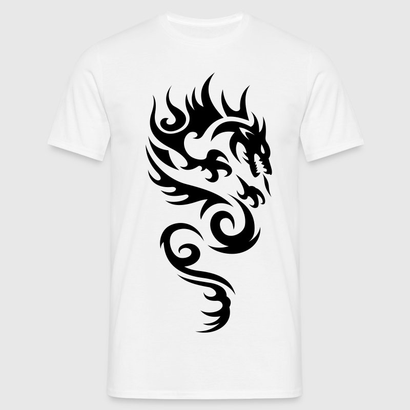 tribal dragon - Men's T-Shirt