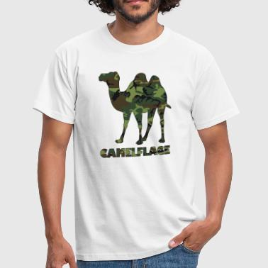 camelflage animal pun - Men's T-Shirt