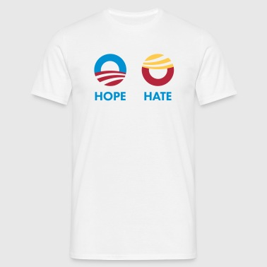 HOPE vs. HATE – #NeverTrump  - Männer T-Shirt