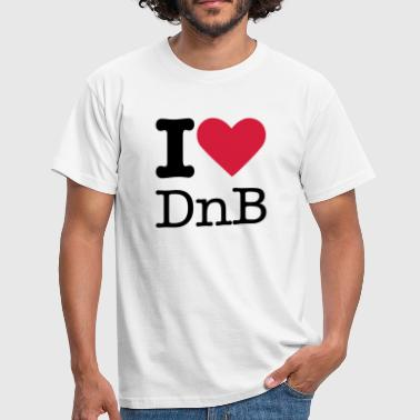 I Love DnB - Men's T-Shirt