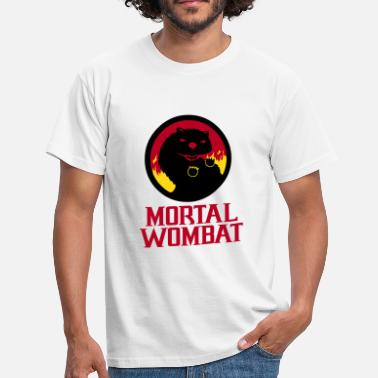 Kombat Mortal Wombat - Men's T-Shirt