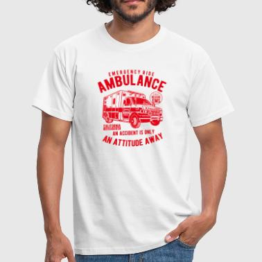 Emergency Services Ambulance Emergency Doctor Rescue Service Shirt Vintage - Men's T-Shirt