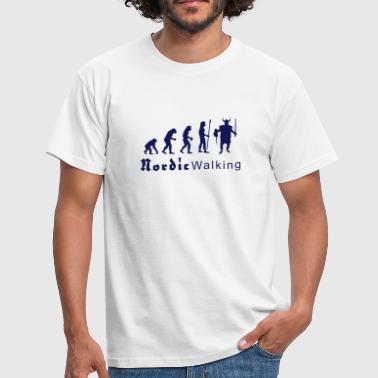 evolution_nordicwalking1 - Men's T-Shirt