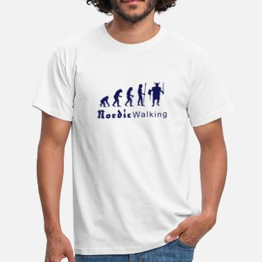 Viking Nordic evolution_nordicwalking1 - Men's T-Shirt