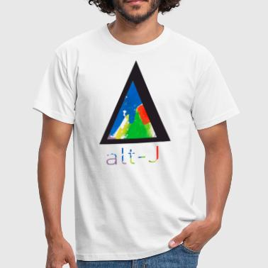 Triangle with name - Camiseta hombre