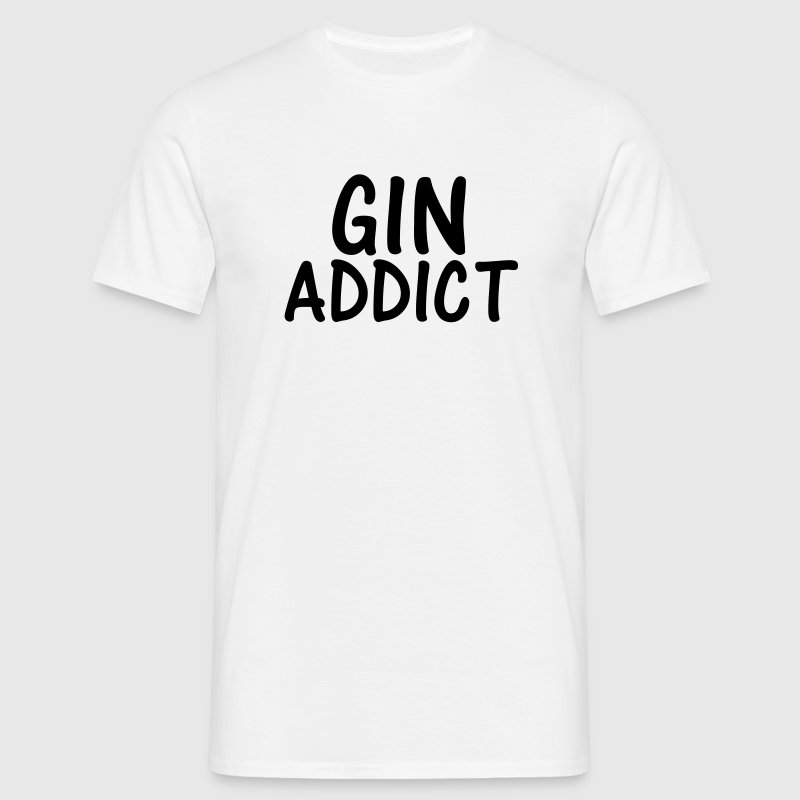 gin addict - Men's T-Shirt