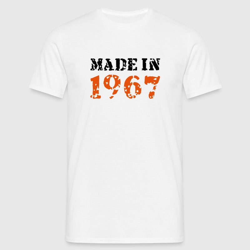 Made in 1967 - Männer T-Shirt