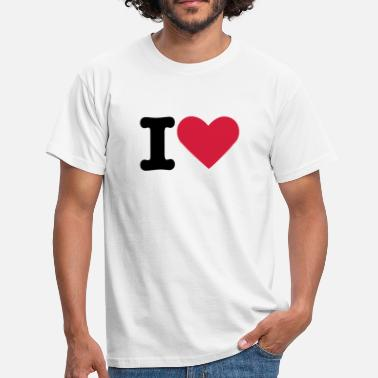 I Love i love - Men's T-Shirt