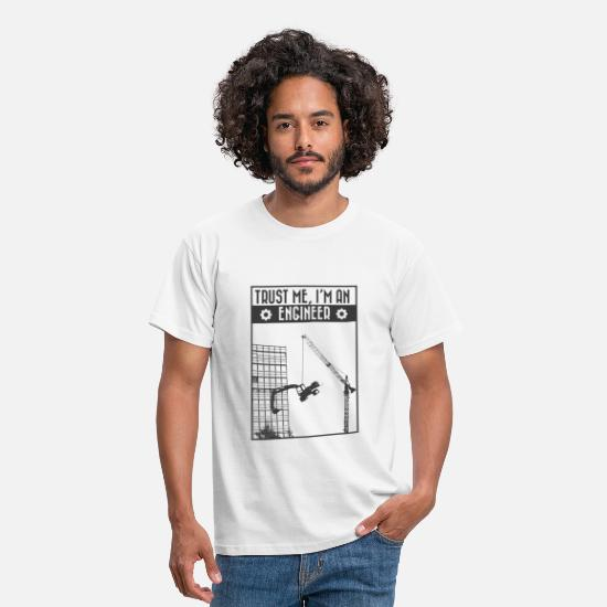 Ingenieur T-Shirts - Trust me, I'm an engineer - Männer T-Shirt Weiß
