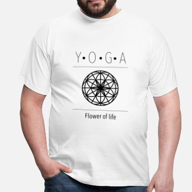 Life Flower flower of Life - Men's T-Shirt