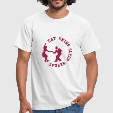 Eat Swing Sleep Repeat - T-shirt Homme