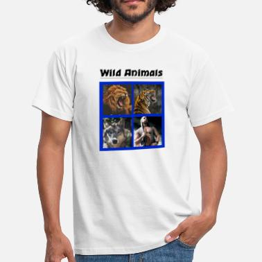 Wild Animals Wild Animals - Men's T-Shirt