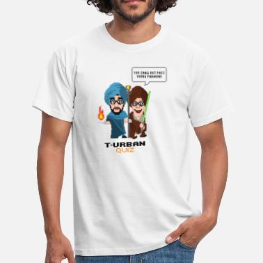 Scifi You shall not pass Turban Quiz (dark) - Männer T-Shirt