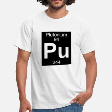 Plutonium Element 94 - pu (plutonium) - Inverse (Full) - Mannen T-shirt