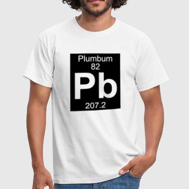 Plumbum (Pb) (element 82) - Men's T-Shirt