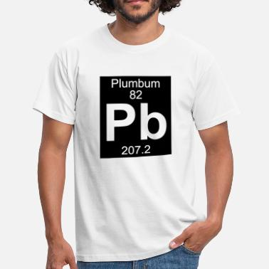 Plumbum Plumbum (Pb) (element 82) - Men's T-Shirt
