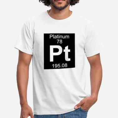 Platinum Platinum (Pt) (element 78) - Men's T-Shirt