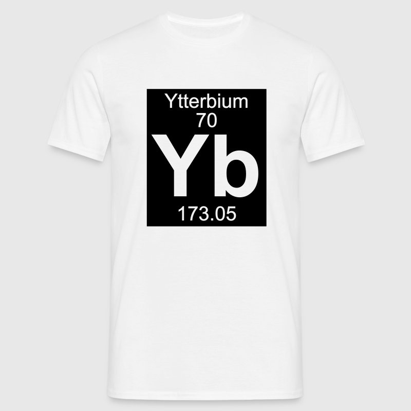Ytterbium (Yb) (element 70) - Men's T-Shirt