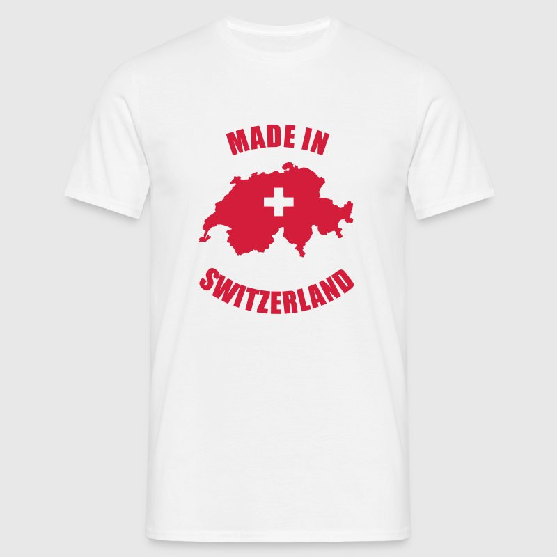 Made in Switzerland - Männer T-Shirt