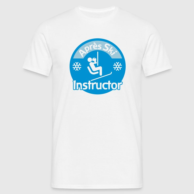 Après-Ski Instructor - Men's T-Shirt