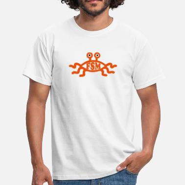 Pastafari Flying Spaghetti Monster - Männer T-Shirt
