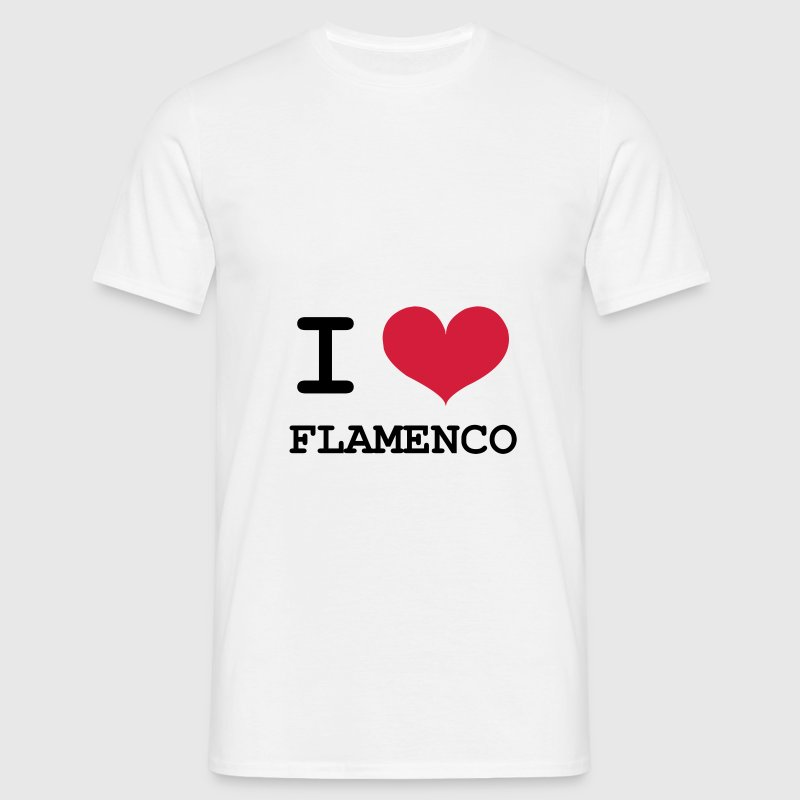 I Love Flamenco ! - Men's T-Shirt