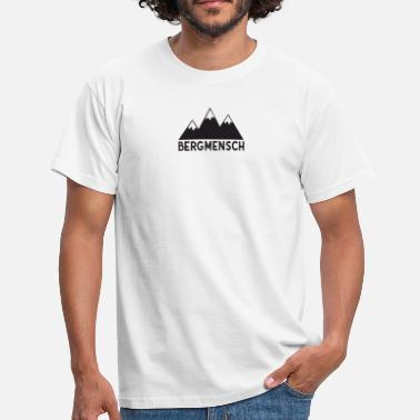Cool Symbol Bergmensch - symbol mountaineer mountaineering cool - Men's T-Shirt