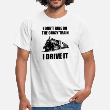 Steam Funny Steam Train Shirt Locomotive Driver Gift - Men's T-Shirt