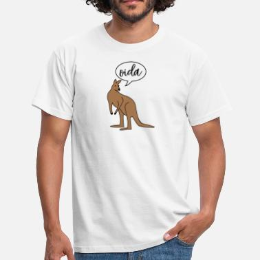 Dialect Oida Austria dialect dialect - Men's T-Shirt
