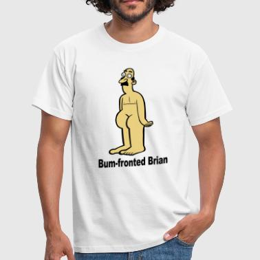 Bum Bum-Fronted Brian - Men's T-Shirt