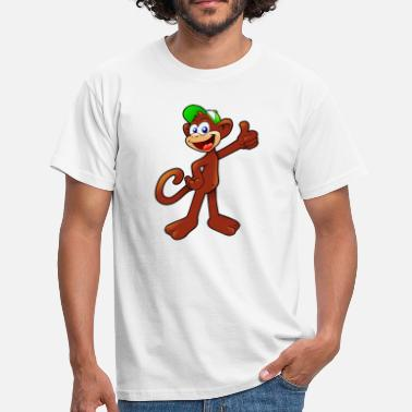 Baby Monkey Baby Monkey - Men's T-Shirt