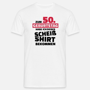 50 Geburtstag Manner Premium T Shirt Spreadshirt