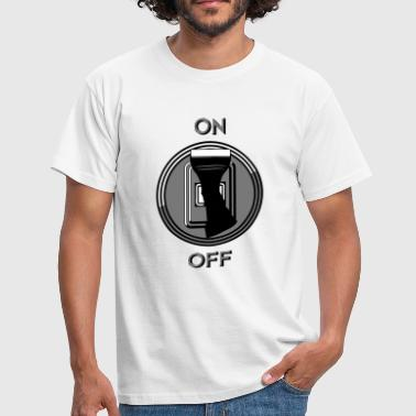 switch on off - Men's T-Shirt