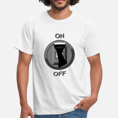 Switch Off switch on off - Men's T-Shirt