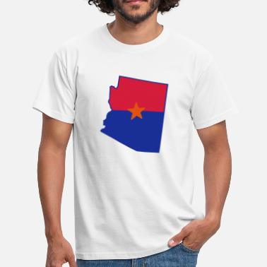 Arizona Arizona - Herre-T-shirt