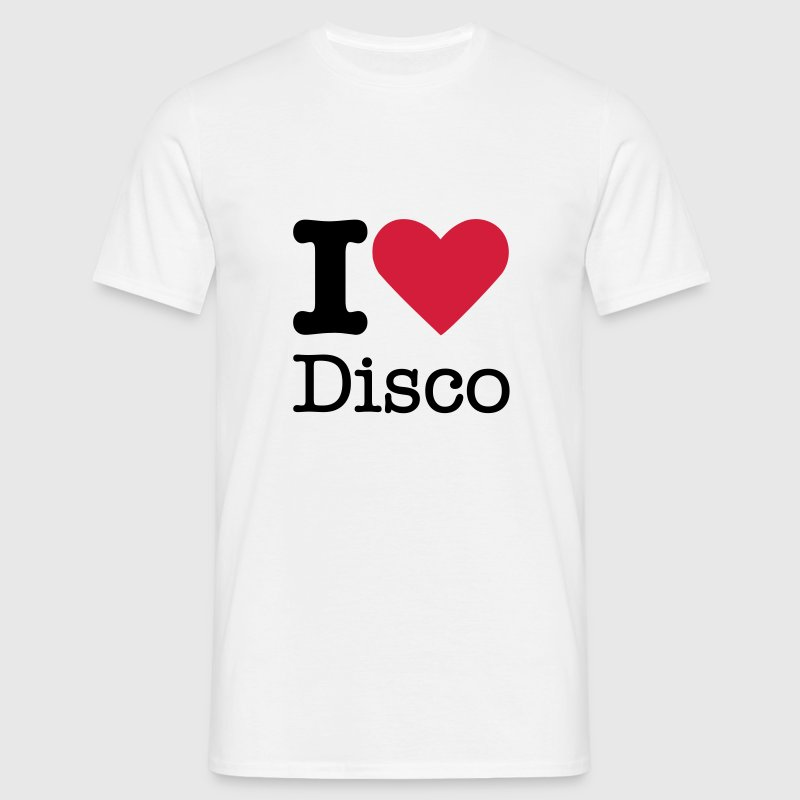 I Love Disco - Men's T-Shirt
