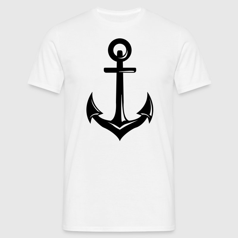 Sailor anchor  - Men's T-Shirt