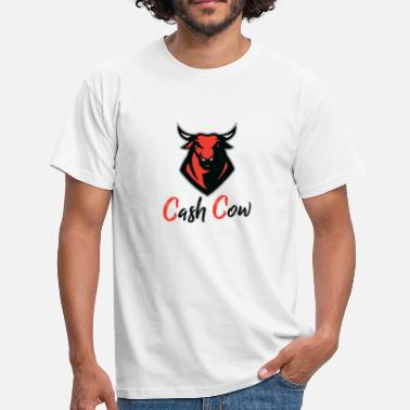 Red-cow Cash Cow RED - Men's T-Shirt