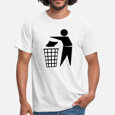 Trash Bin trash can - Men's T-Shirt