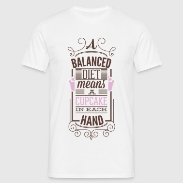 A balances diet - T-shirt Homme