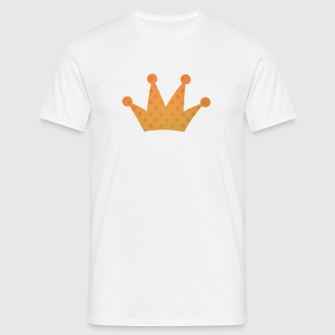 Crown with stars yellow - Men's T-Shirt