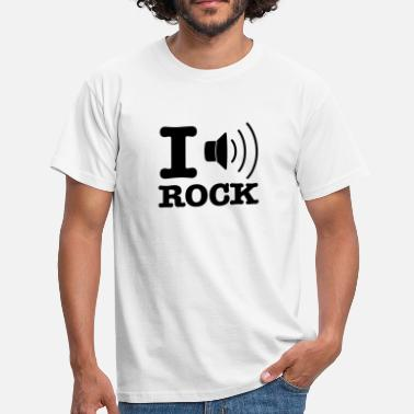 I Love Rock i music rock / I love rock - Camiseta hombre