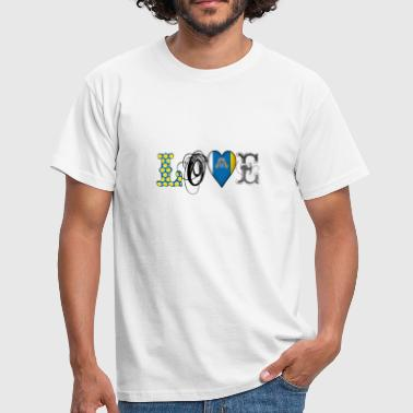 Love Canary Islands Black - Men's T-Shirt