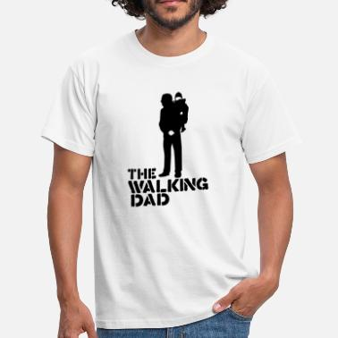 Fear the walking dad - Männer T-Shirt
