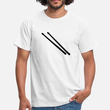 Sticks Drum Sticks - Men's T-Shirt