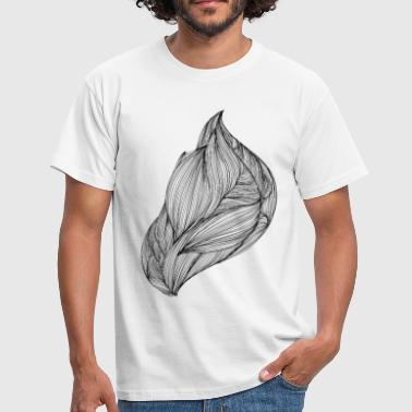 Abstract stroom, abstract ontwerp - Mannen T-shirt
