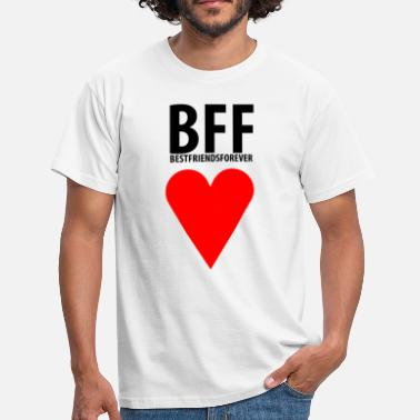 Forever Bff BFF Best Friends Forever. - Männer T-Shirt