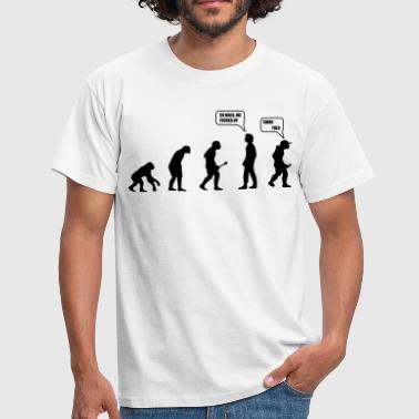 Quotes Swag Yolo Evolution - Men's T-Shirt