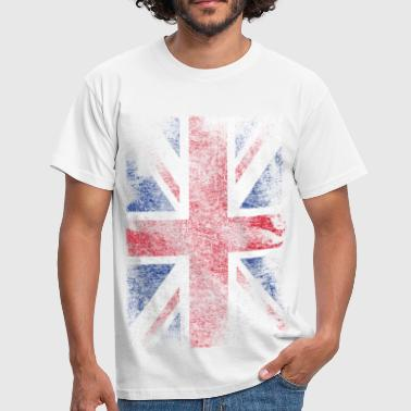 union jack - used look - Men's T-Shirt