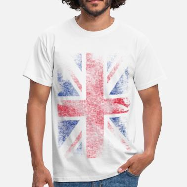 Union Jack union jack - used look - T-skjorte for menn